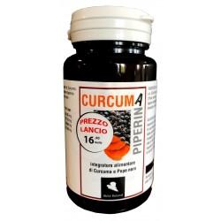 Curcuma + Piperina da 30 capsule