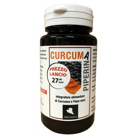 Curcuma + Piperina da 60 capsule